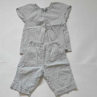 MUJI (無印良品) - 無印良品 パジャマ 90