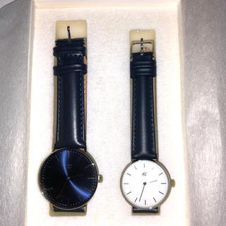 ヨンドシー(4℃)の非売品 未使用 4℃ ペアウォッチ(腕時計)