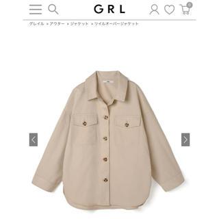 グレイル(GRL)のGRL ツイルオーバージャケット(その他)