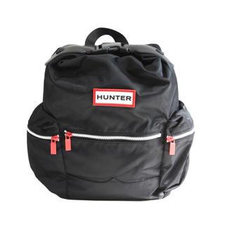 ハンター(HUNTER)の新品・タグ付 HUNTER トップクリップ バックパック ノーマル ブラック(リュック/バックパック)
