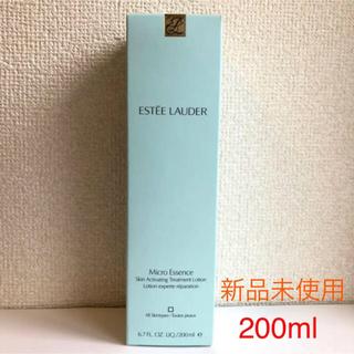エスティローダー(Estee Lauder)のESTEE LAUDER  Micro Essence 200ml(化粧水/ローション)
