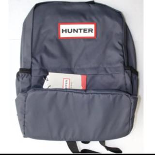ハンター(HUNTER)の【新品・タグ付き】HUNTER ナイロンスモール バックパック ネイビー(リュック/バックパック)
