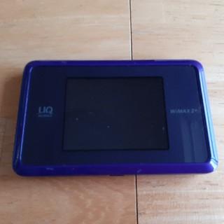 エヌイーシー(NEC)のUQ WiMAX Speed Wi-Fi NEXT WX03(PC周辺機器)