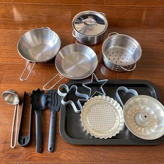 イケア(IKEA)のIKEA⭐︎キッズ⭐︎おままごと⭐︎15点set⭐︎調理器具⭐︎おもちゃ(知育玩具)