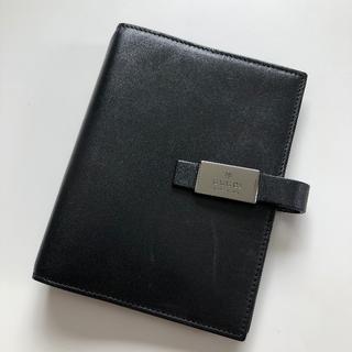 グッチ(Gucci)のGUCCI グッチ システム手帳 カバー ブラック(手帳)