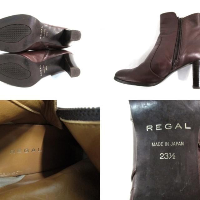 REGAL(リーガル)のリーガル ショートブーツ 23 1/2 - レザー レディースの靴/シューズ(ブーツ)の商品写真