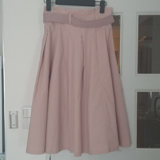 ダズリン(dazzlin)の♥Dazzlin♥ くすみピンクのフレアスカート(ひざ丈スカート)