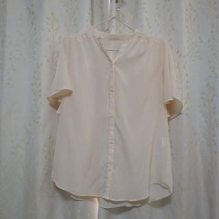 フェリシモ(FELISSIMO)のフェリシモで購入 袖丈ふわりブラウス(シャツ/ブラウス(半袖/袖なし))