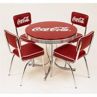 コカ・コーラ ローテーブル&チェアー フルセット 5点セット(ローテーブル)