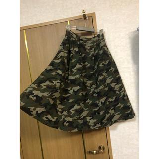 ウィゴー(WEGO)のWEGO ウィゴー 迷彩柄スカート(ロングスカート)