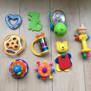 ミキハウス(mikihouse)のベビー トイ おもちゃ 0歳児 まとめ売り 10点セット(知育玩具)