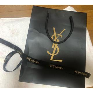 イヴサンローランボーテ(Yves Saint Laurent Beaute)のYSL イヴサン ローラン ショップ袋 リボン(ショップ袋)