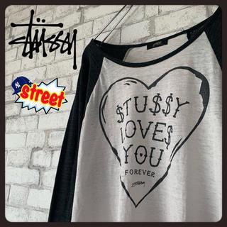 ステューシー(STUSSY)の【cute♪】STUSSY ステューシー/ロンT ラグラン オフショル(Tシャツ(長袖/七分))