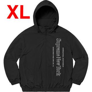 シュプリーム(Supreme)の【XL】supreme Side Logo Track Jacket(ナイロンジャケット)