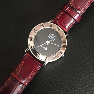 ロンハーマン(Ron Herman)のインディアンジュエリーウォッチSAADオニキス文字盤(腕時計)