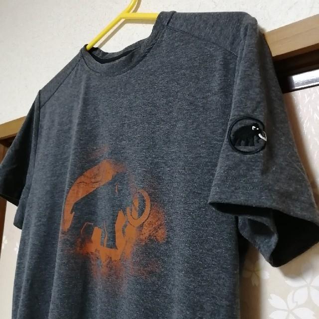 Mammut(マムート)のMAMMUT Tシャツ メンズMサイズ メンズのトップス(Tシャツ/カットソー(半袖/袖なし))の商品写真