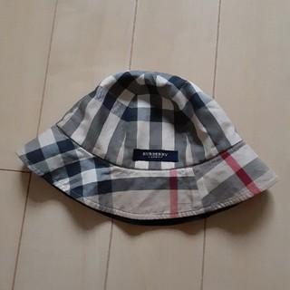 バーバリー(BURBERRY)のバーバリー 帽子 リバーシブル(帽子)