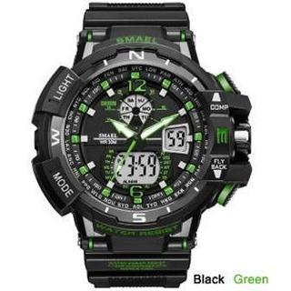 2020新入荷!■新品■ ビッグフェイス ダイバーズウォッチ緑(腕時計(デジタル))