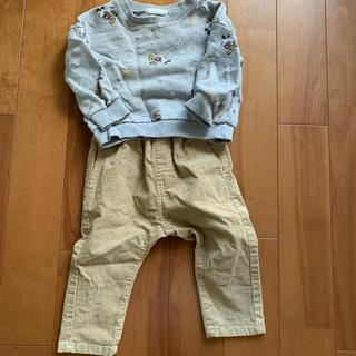 ムジルシリョウヒン(MUJI (無印良品))の80サイズ♡セット(パンツ)