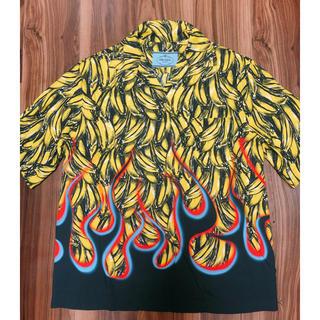 プラダ(PRADA)のPRADA バナナプリントシャツ 期間限定値下げ 貴重!早い者勝ち コレクション(シャツ)