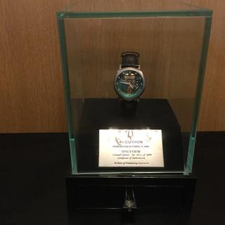 ブローバ(Bulova)のアキュトロン スペースビュー 復刻モデル 世界限定1000本(腕時計(アナログ))