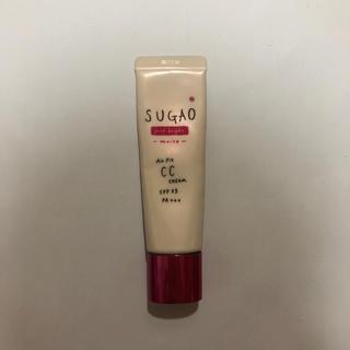 ロートセイヤク(ロート製薬)のSUGAO エアーフィット ccクリーム ピンクブライトモイスト(CCクリーム)