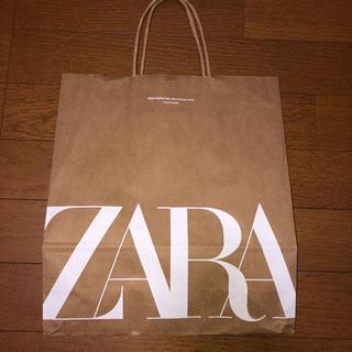 ザラ(ZARA)のZARA(ショップ袋)