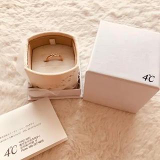 ヨンドシー(4℃)の4℃ ダイヤモンドリング(リング(指輪))