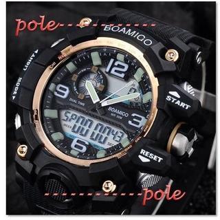 ■2020新品!■ ダイバーズウォッチ 金ベゼル メンズ レディース 腕時計(腕時計(デジタル))