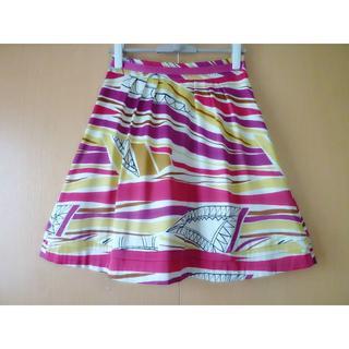 レオナール(LEONARD)のボディードレッシングデラックス☆可愛らしいスカート (ひざ丈スカート)