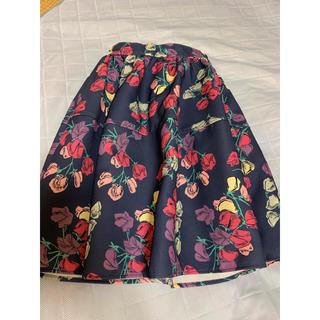 ダズリン(dazzlin)の【ダズリン】花柄スカート  膝丈スカート (ひざ丈スカート)