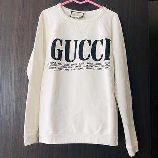 グッチ(Gucci)のGUCCI♡シティプリントトレーナー(トレーナー/スウェット)