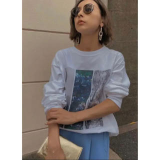 アメリヴィンテージ(Ameri VINTAGE)のamerivintageアメリヴィンテージWINDANDSEAコラボロンT(Tシャツ(長袖/七分))