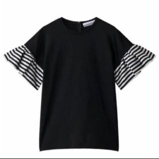 ドゥロワー(Drawer)のborders at balcony ボーダーズアットバルコニー ラッフルT(Tシャツ(半袖/袖なし))