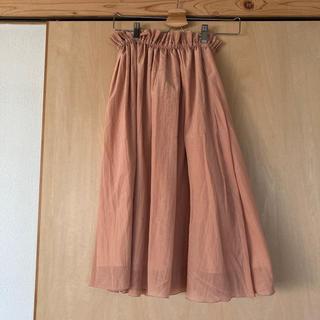 デミルクスビームス(Demi-Luxe BEAMS)のDemi-Luxe BEAMS フレアスカート(ロングスカート)