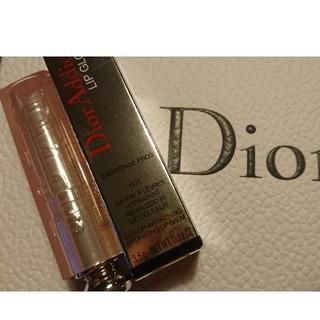 ディオール(Dior)のDior アディクト リップグロウ 001 リップバーム(リップケア/リップクリーム)