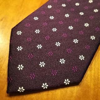 スーツカンパニー(THE SUIT COMPANY)の✨ザ・スーツカンパニー 紫色のネクタイ(ネクタイ)