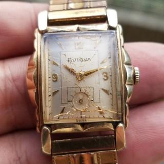 ブローバ(Bulova)の稼働品 ブローバ スモールセコンド 手巻き (腕時計(アナログ))