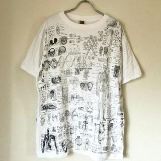 激レア!90年代 人体総柄Tシャツ(Tシャツ/カットソー(半袖/袖なし))