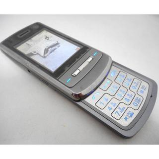 エルジーエレクトロニクス(LG Electronics)のL705iX シャインチタン FOMA★ドコモ 中古携帯ガラケーdocomo(携帯電話本体)