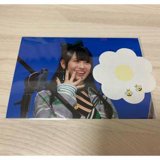 ソニー(SONY)のgirls2  小田柚葉 直筆サイン入り写真(ミュージシャン)