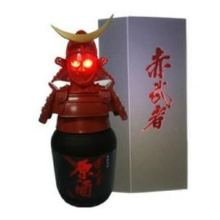赤武者 甲冑ボトル 二本セット(焼酎)