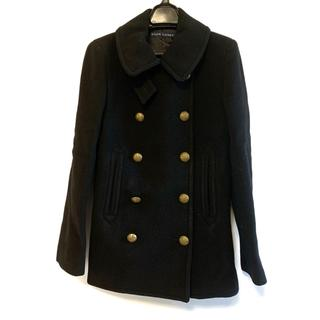 ラルフローレン(Ralph Lauren)のラルフローレン Pコート サイズ9 M 黒 冬物(ピーコート)