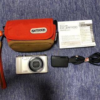 カシオ(CASIO)のCASIO  EXILIM  EX-ZR1100 ホワイト(コンパクトデジタルカメラ)