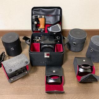 ペンタックス(PENTAX)の中判フィルムカメラ ASAHI PENTAX 6×7 レンズ4本 その他(フィルムカメラ)