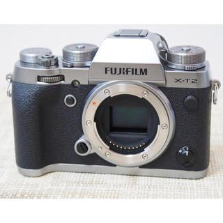 富士フイルム - FUJIFILM XーT2 ボディ グラフィックシルバー