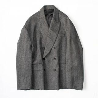 1LDK SELECT - stein 20aw DOUBLE BREASTED JACKET