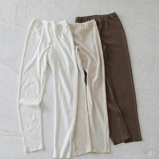 トゥデイフル(TODAYFUL)の着用2〜3回★todayful Linen Rib Leggings(レギンス/スパッツ)
