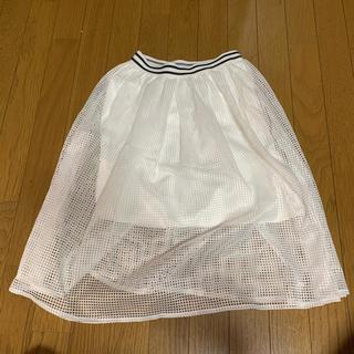 ウィゴー(WEGO)のWEGO メッシュスカート(ひざ丈スカート)