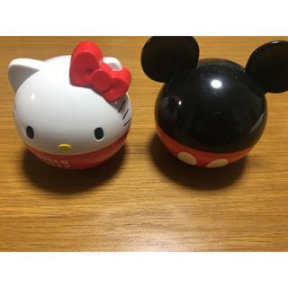 ハローキティ(ハローキティ)のお弁当箱 子供 ハローキティ ミッキーマウス(弁当用品)